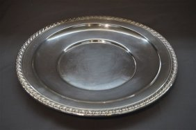 Wallace Sterling Silver Charger