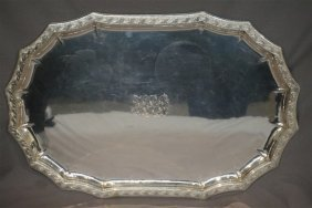 Important Tiffany Studios Sterling Silver Tray