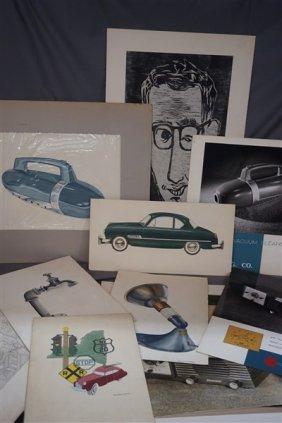 C.1950's Commercial Studio Art Grouping