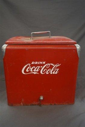 Vintage Drink Coca Cola Cooler