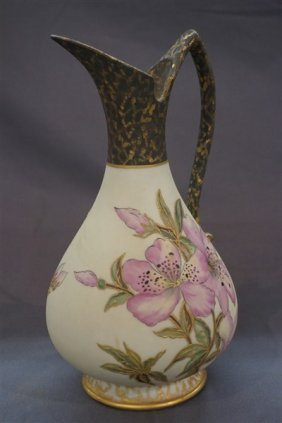Haviland Limoges Hand Painted Ewer C.1890
