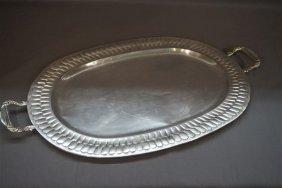 Alameda Platieria Juarez, Sterling Silver Serving Tray