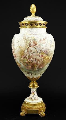 A Sevres Urn.