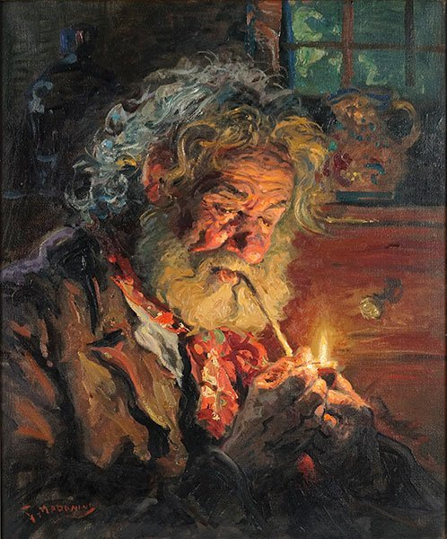 The Red Boy Oil Painting