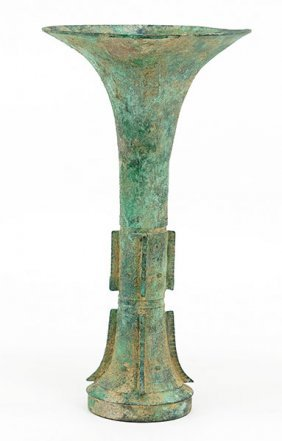 A Chinese Archaic Bronze Vase.