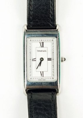 A Tiffany & Company Stainless Steel Lady's Watch.