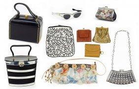 A Collection Of Handbags.