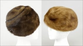 Two Mink Hats.