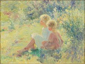 Adam Emory Albright (1862-1957) The Twins.