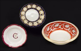 A Set Of Eleven Royal Doulton Porcelain Dinner Plates.