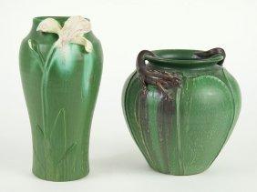 Two Ephraim Pottery Vases.