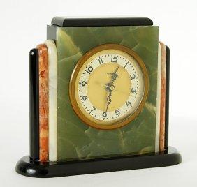 A Hammond Art Deco Electric Clock.