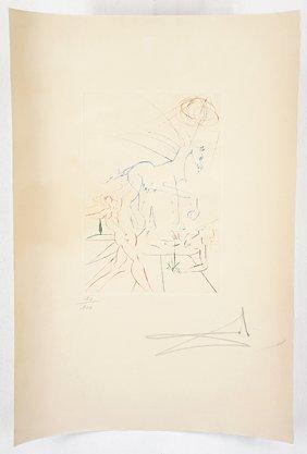 Salvador Dali (spanish, 1904-1989) Title Unknown.
