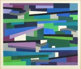 Yaacov Agam (israeli, B. 1928) Composition Geometrique.