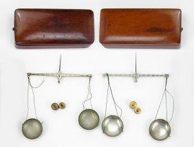 A W. Green & Co. Karat Scale Set.