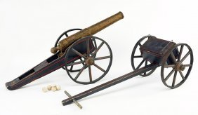 A Toy Cannon.