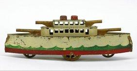A Dayton Schieble Gun Boat.