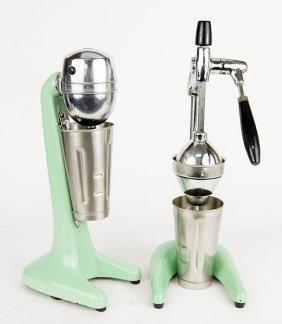 A Hamilton Beach Milkshake Machine.