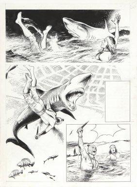 """Caprioli Franco - """"moby Dick: La Balena Bianca"""", 1975"""