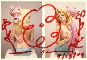 """Koons Jeff - """"pink Panther"""", 2009"""