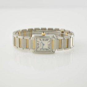 Cartier Ladies Wristwatch Tank Francaise