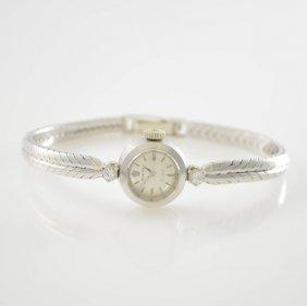 Rolex Orchid 18k White Gold Ladies Wristwatch