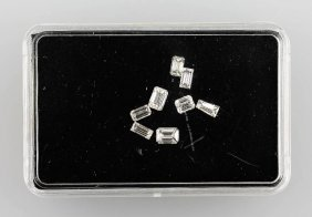 Lot 8 Loose Diamond Baguettes