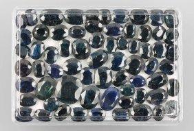 Lot Loose Sapphires, Total 191.00 Ct