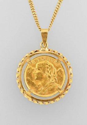Coin Pendant, So-called Vreneli