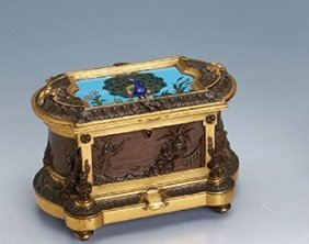 Jewellery Box, France Approx. 1880/90s