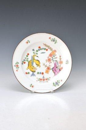 Plate, Meissen, Dat. 1896