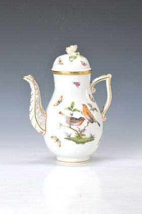 Large Coffee Pot, Herend, 20th C.