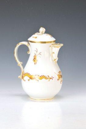 Large Coffee Pot, Meissen
