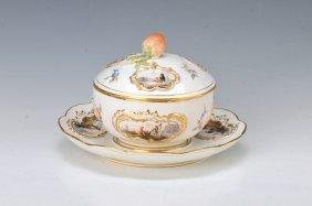 Lidded Bowl, Meissen, Around 1890