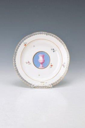 Rare Plate, Frankenthal, Dat. 1787