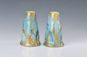 Pair Of Vases Clement Massier