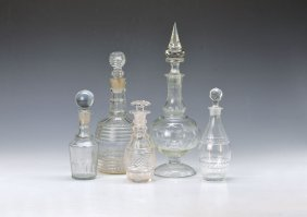 5 Carafes, France And England