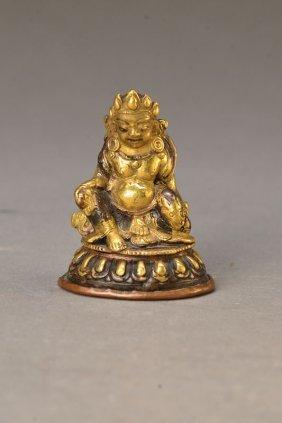 Miniature Sculpture Of Jambhala