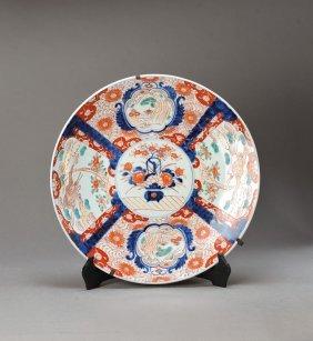 Large Plate, Imari, Japan