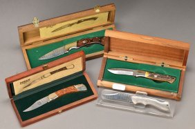 Four Yearly Knives, Böker Damast
