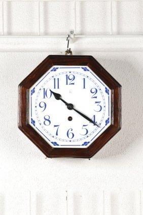 Wall Clock, Art Nouveau, German