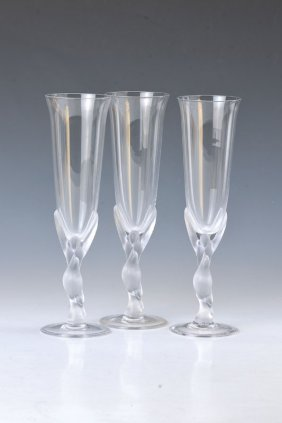 12 Champagner Glasses, Fabergé