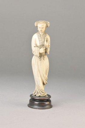 Mammoth Ivory Figurine, China