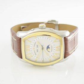 Maurice Lacroix Gents Wristwatch Phase De Lune Tonneau