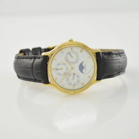 Bucherer 18k Yellow Gold Gents Wristwatch