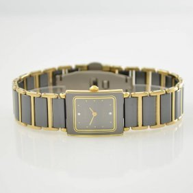 Rado Diastar Rectangular Ladies Wristwatch