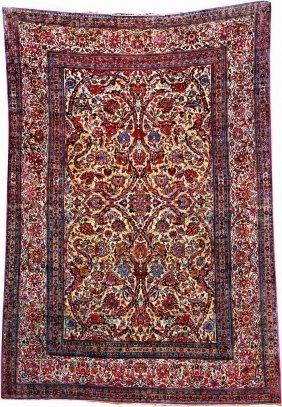 Silk Kashan 'small-carpet',