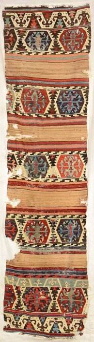 Konya 'kilim' With Camel-hair (fragment),