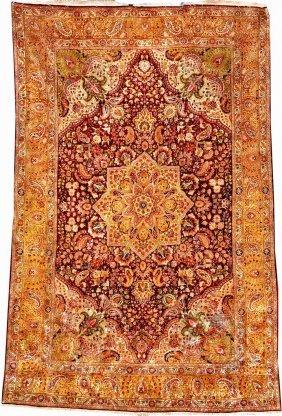 Silk Tabriz 'small-carpet',