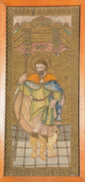 Monastery 'embroidery' (holy Augustinus),